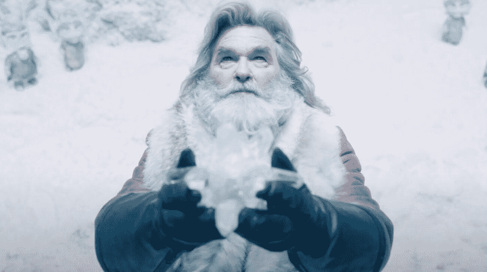 Santa Claus e la Stella di Natale, un frame dal film - © Netflix