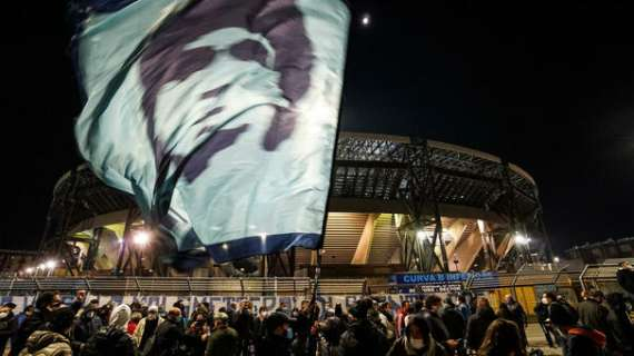 Stadio San Paolo a Maradona