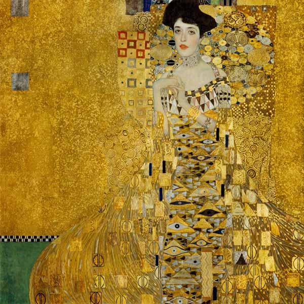 Gustave Klimt, Ritratto di Adele Bloch-Bauer I - Photo Credits: academia.edu