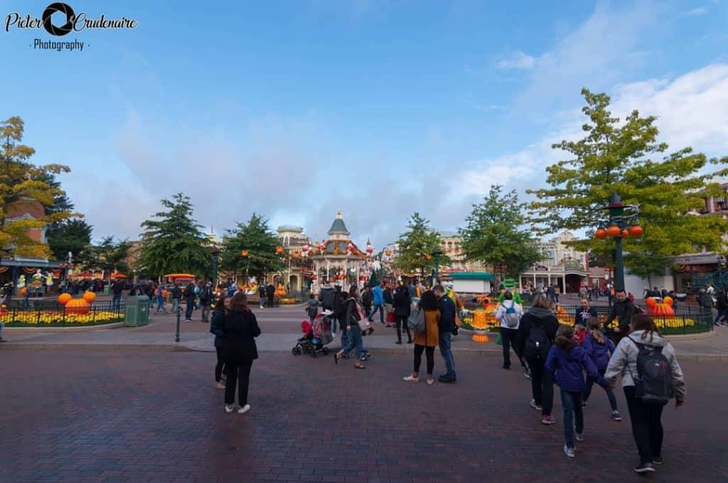 Town Square a Disneyland Paris