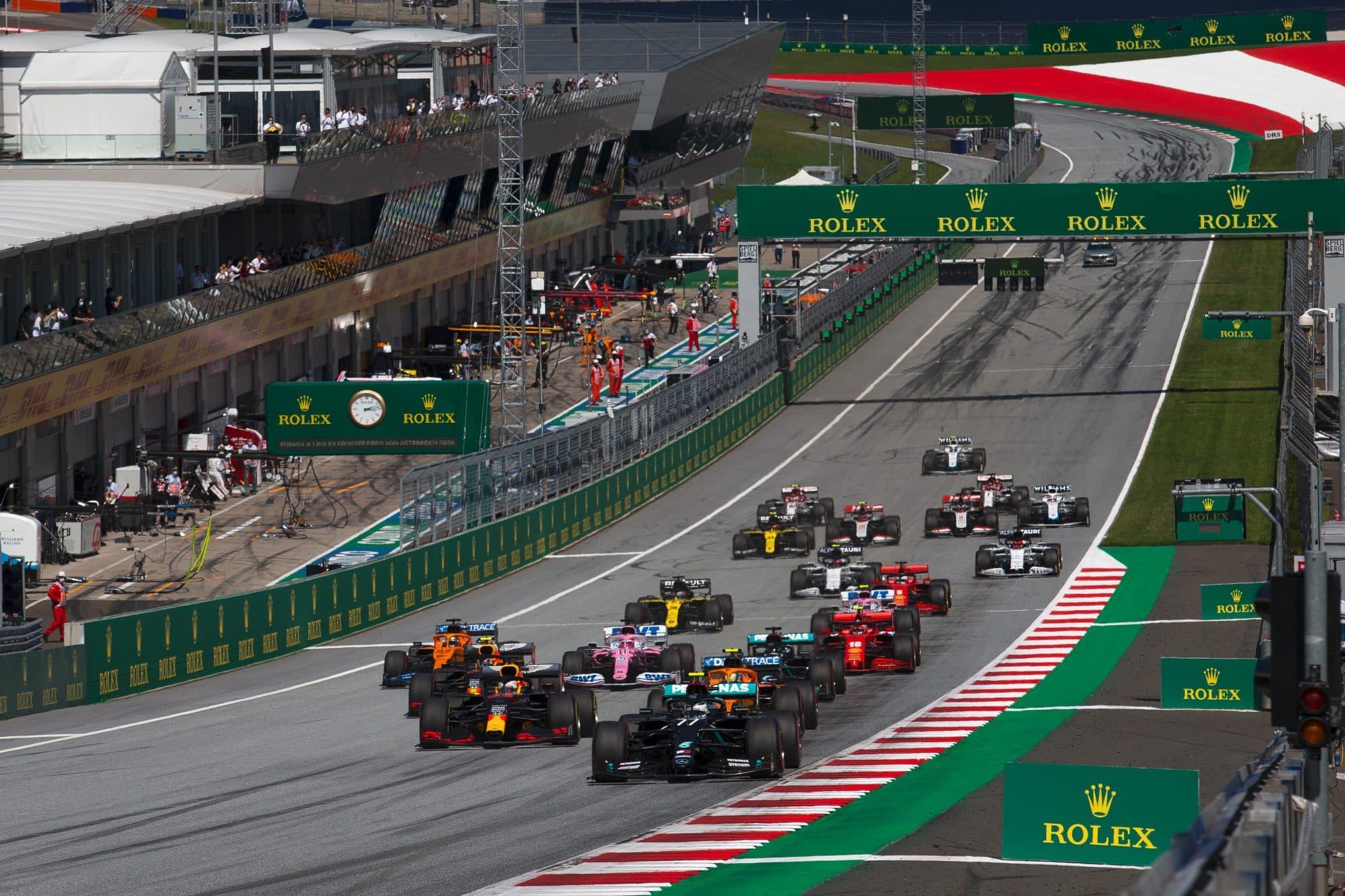 Formula 1, Carey:
