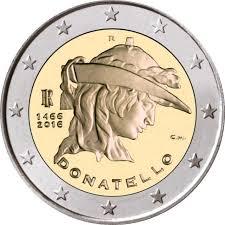 I due euro di Donatello - PhotoCredit: © romacoins.com