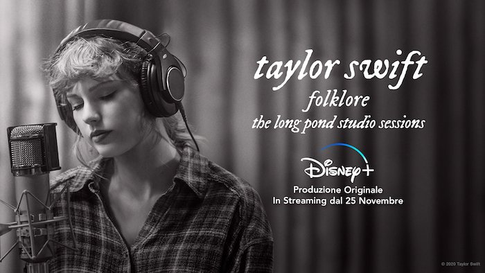 """Taylor Swift, disponibile da oggi mercoledì 25 novembre """"Folklore"""""""