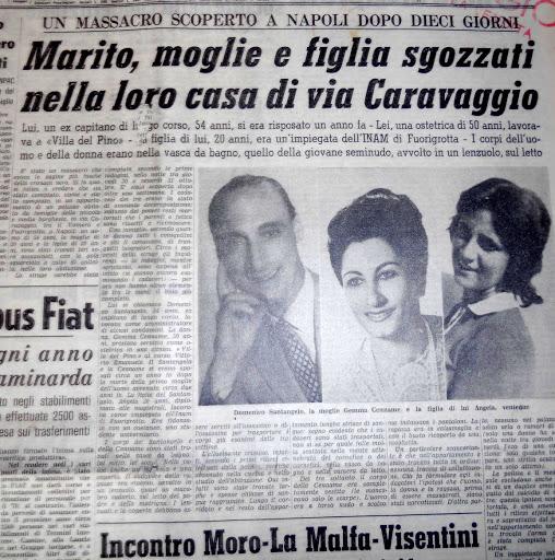 Foto del giornale sulla strage di Via del Caravaggio  photo credit: loralegale.eu