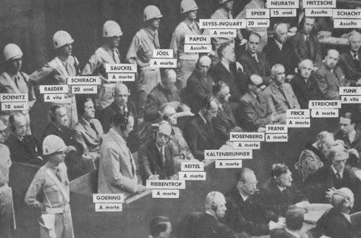 Processo di Norimberga. photocredits:googleimages