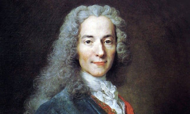 Voltaire. Photo credits web.