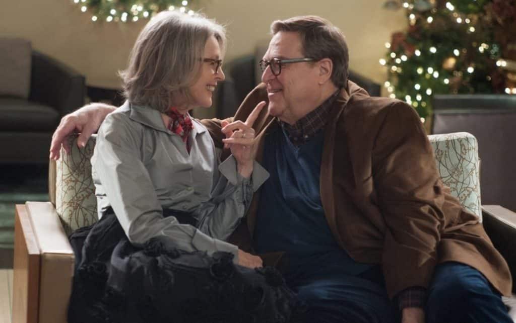 "Diane Keaton e John Goodman in ""Natale all'improvviso"" - Photo Credits:Tv Sorrisi e Canzoni"