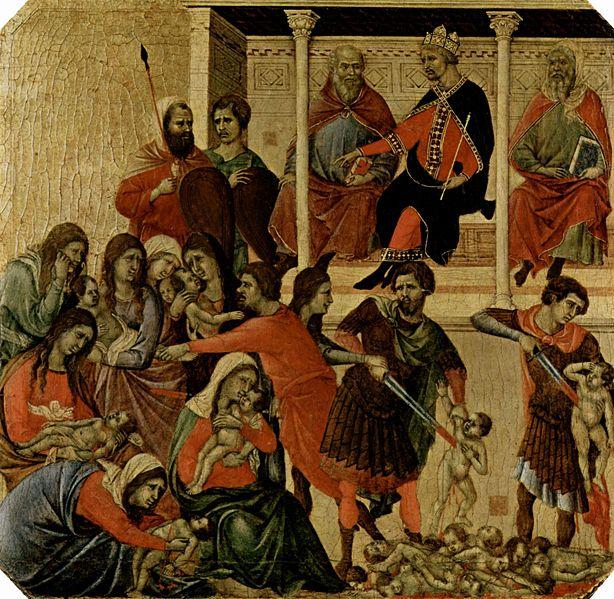 violenza Duccio di Buoninsegna - Photo Credits:arte.coM