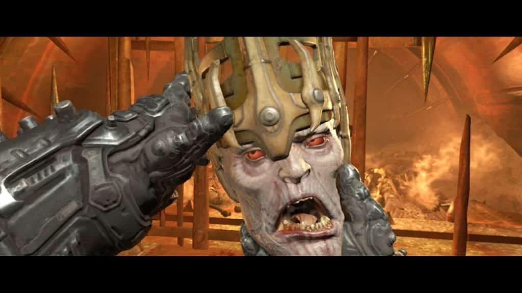 Doom Eternal Switch Recensione testa