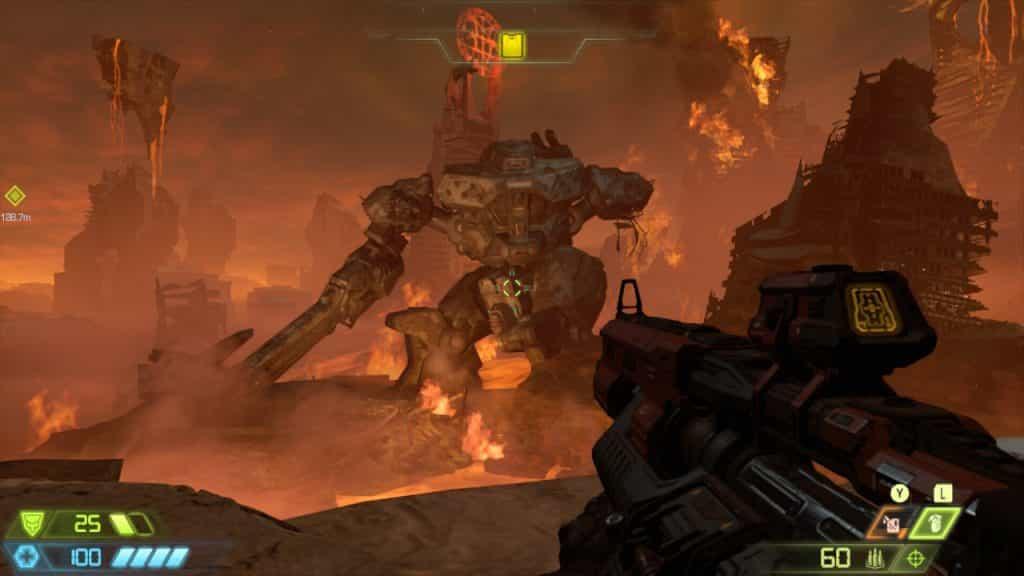 Doom Eternal Switch Recensione peaseggio