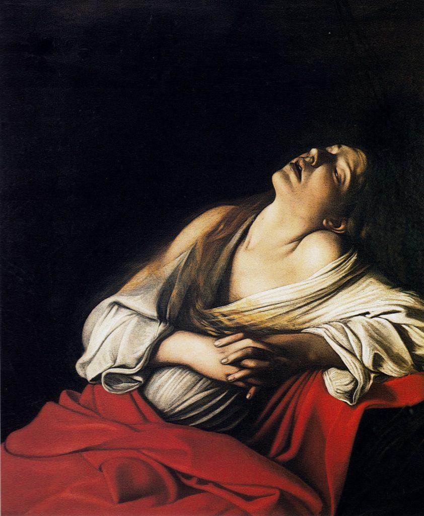 Caravaggio, Maria Maddalena in estasi -Photo Credits: cicap.org
