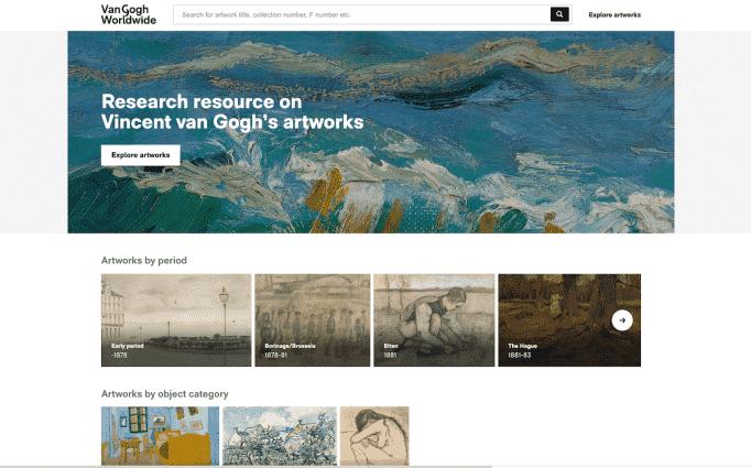 Home di Van Gogh Worldwide - Photo credits: artnews.com