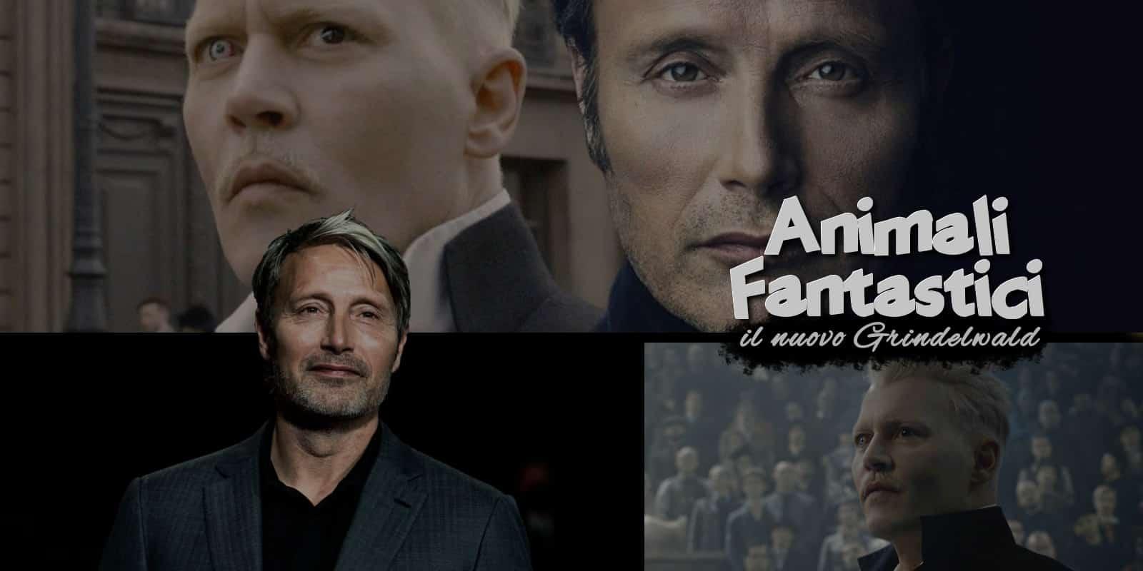 Animali fantastici: parla Mikkelsen, Johnny Depp magistrale