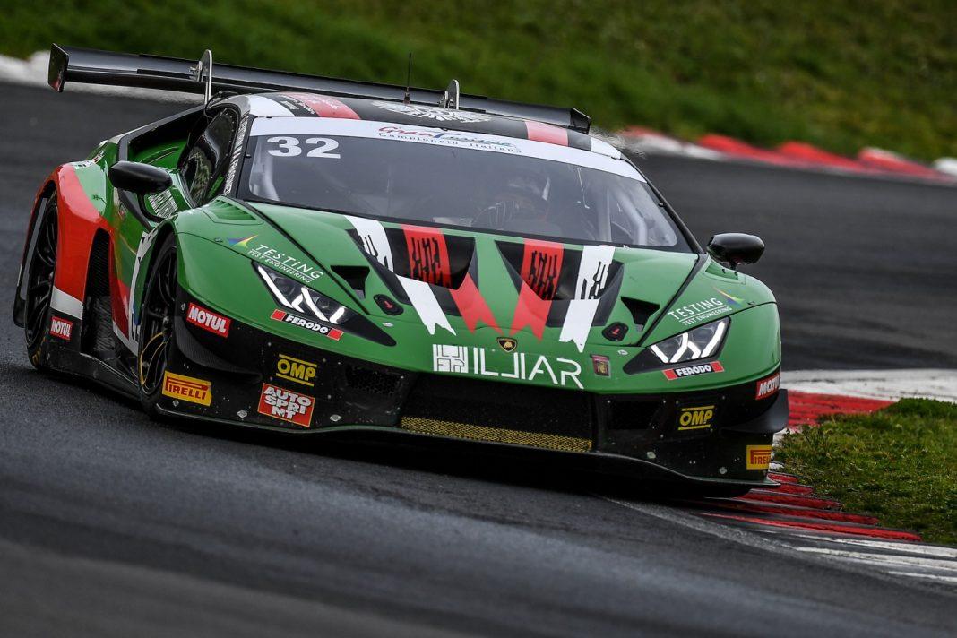 GT Italiano gara Vallelunga imperiale racing lamborghini