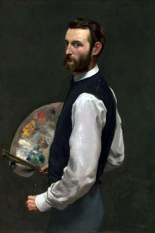 Ritratto di Frédéric Bazille - PhotoCredit: © it.wikipedia.org