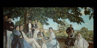 Frédéric Bazille, Riunione di Famiglia, 1867 - PhotoCredit: © settemuse.it