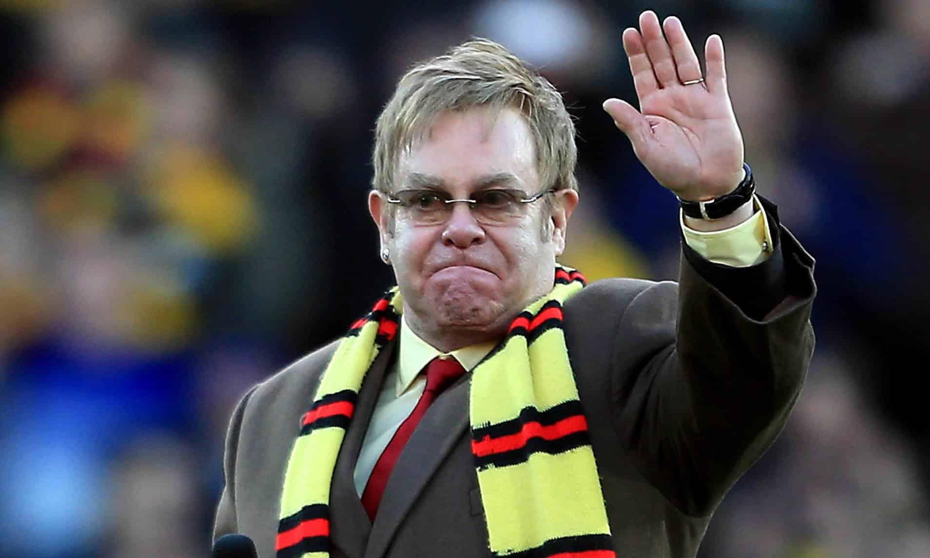 Elton John, la sua bellissima storia d'amore con il Watford