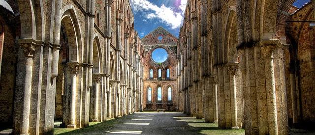 Abbazia di San Galgano. PhotoCredit: ToscanaTascabile