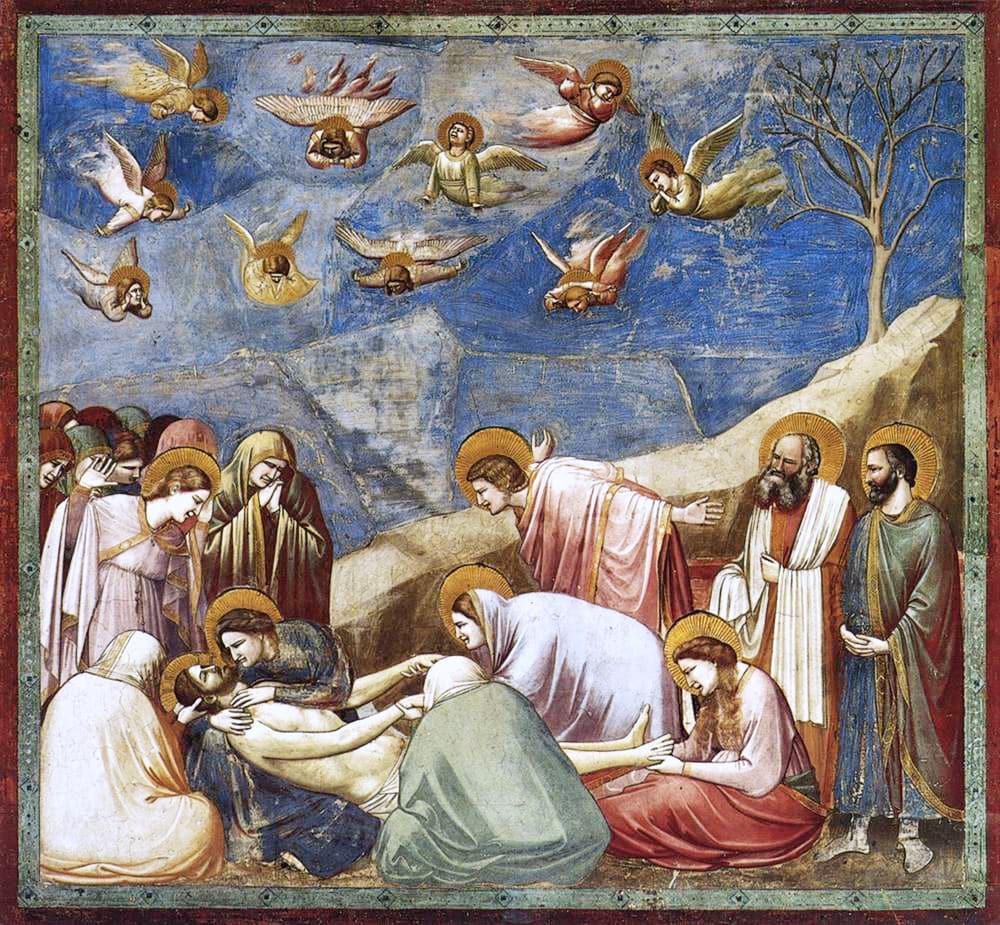 Giotto, Compianto sul Cristo morto - Photo Credits: Studiarapido.com