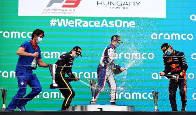 Podio F3 Ungheria