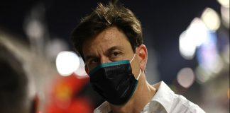 Toto Wolff Mercedes Bahrain