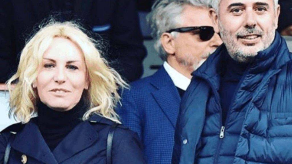 Antonella Clerici con Vittorio Garrone - photocredits: ricettasprint
