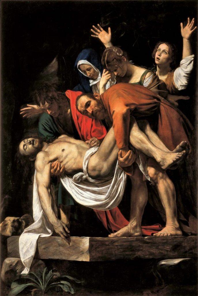 Caravaggio, Deposizione - Photo Credits: artescuola.com
