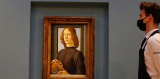 Ritratto Botticelli asta photo credits: sky