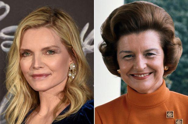 """Michelle Pfeiffer interpreterà Betty Ford nella serie """"The First Lady""""!"""