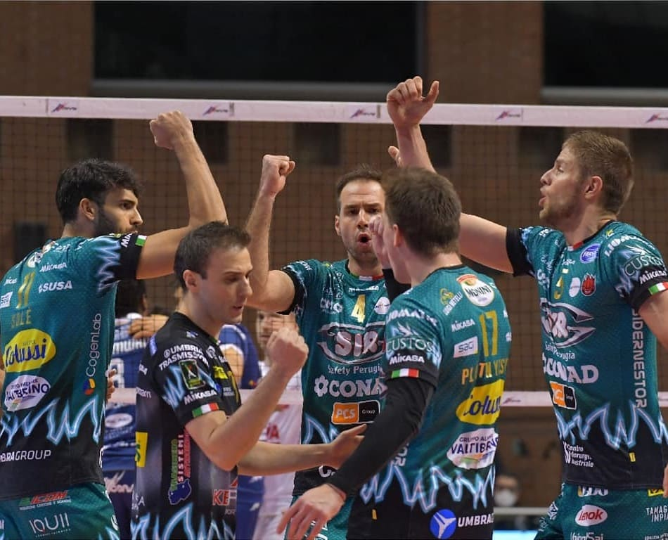 punto Perugia - Photo Credit: Sir Safety Perugia Volley Club Facebook Official Account