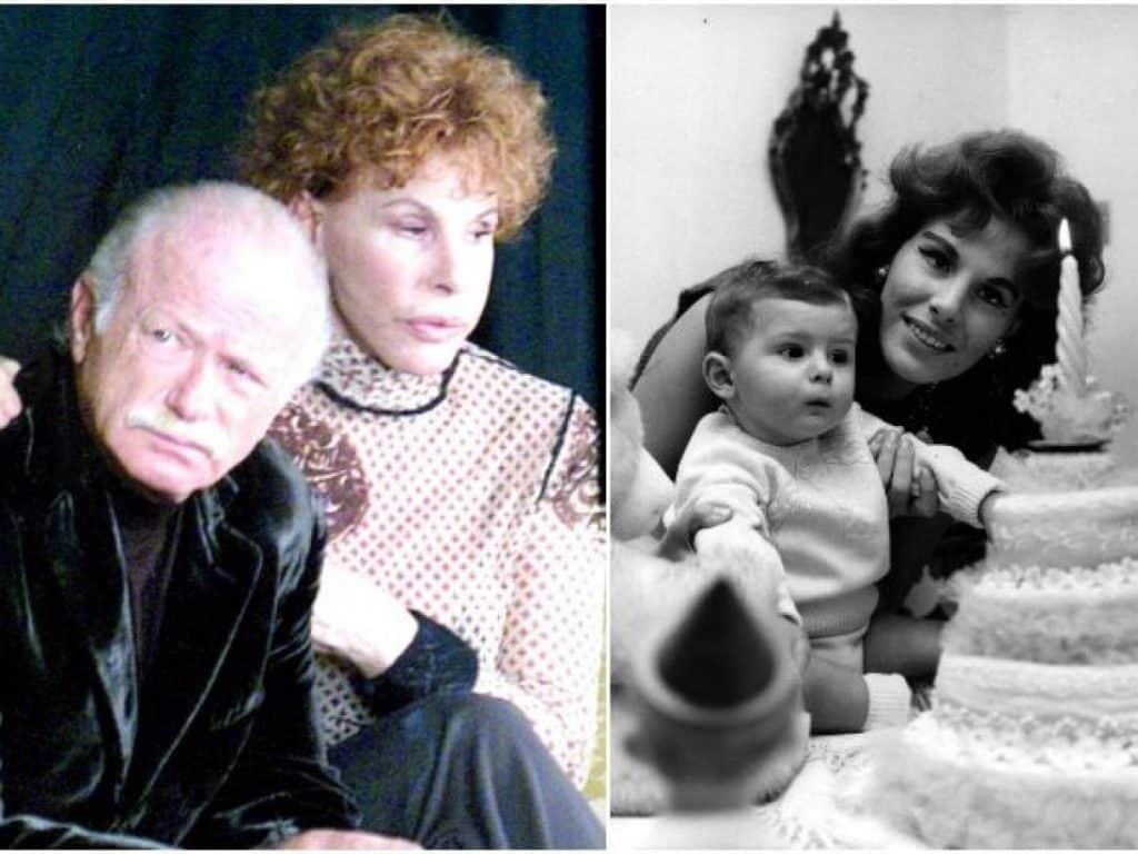 Ornella Vanoni con Gino Paoli, a sinistra, e Ornella Vanoni con il figlio Cristiano Ardenzi, a destra - photocredits: gossipfanpage