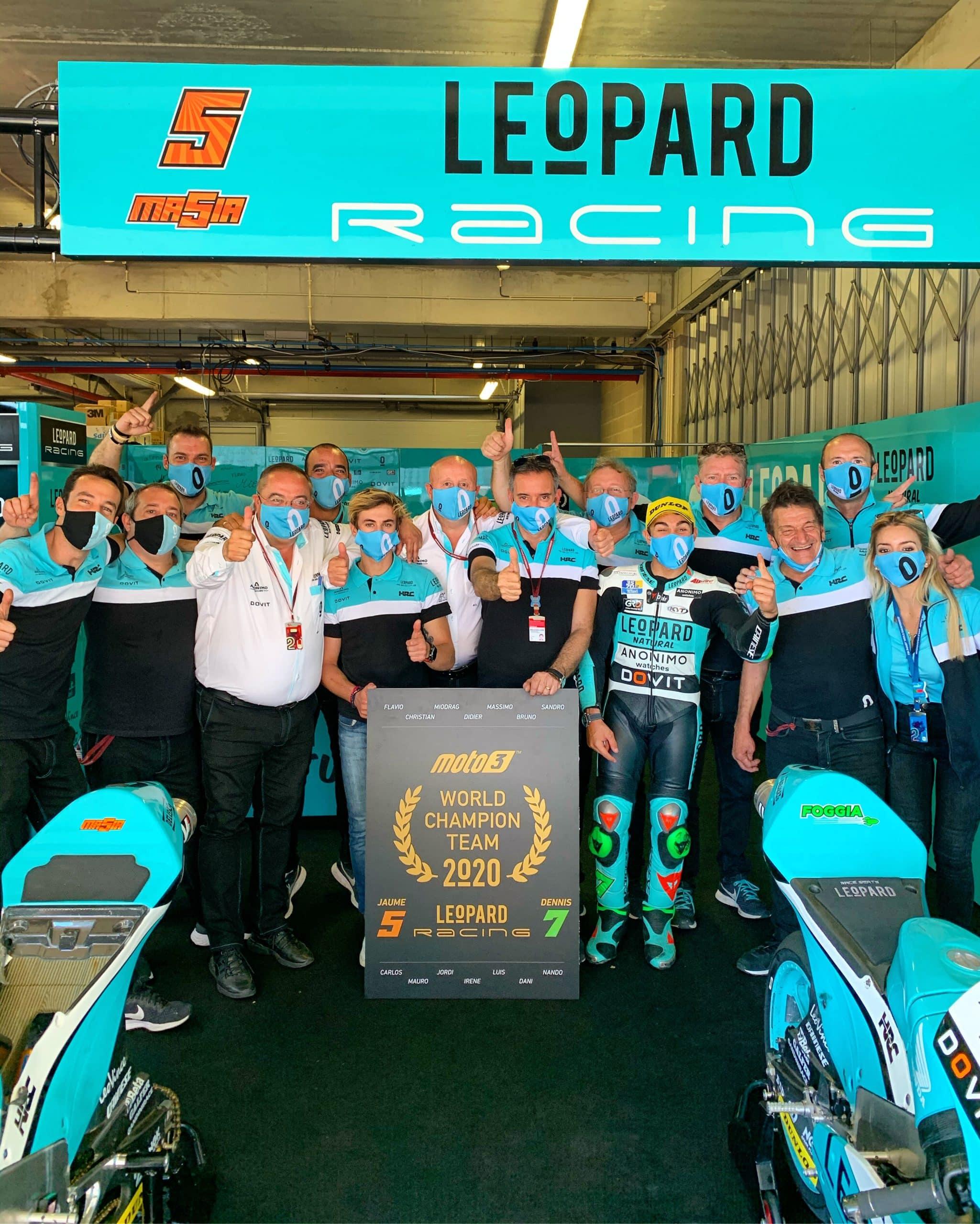 team leopard 2020