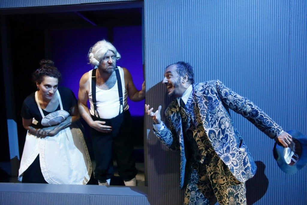 La scuola delle mogli di Molière - photo credts sito web Teatro e Critica