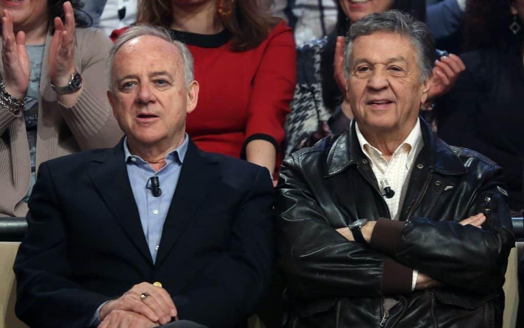"""Aurelio Ponzoni, detto Cochi, e Renato Pozzetto autori di """"E la vita, la vita"""" - photocredits: skytg24"""