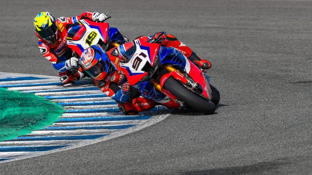 SBK Honda Test Jerez