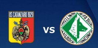Catanzaro-Avellino, 28° giornata Serie C-Girone C.