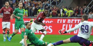 Calcio, Serie A - Fiorentina-Milan