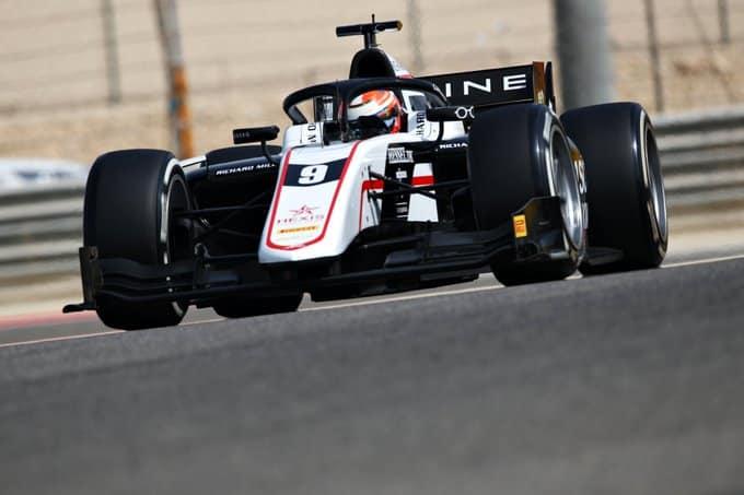 Formula 2 Test Lundgaard