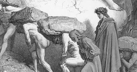 decimo canto purgatorio- credits: ripassofacile.blogspot.com