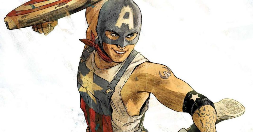 Capitan America of The Railways- Photo Credits: comicbook.com