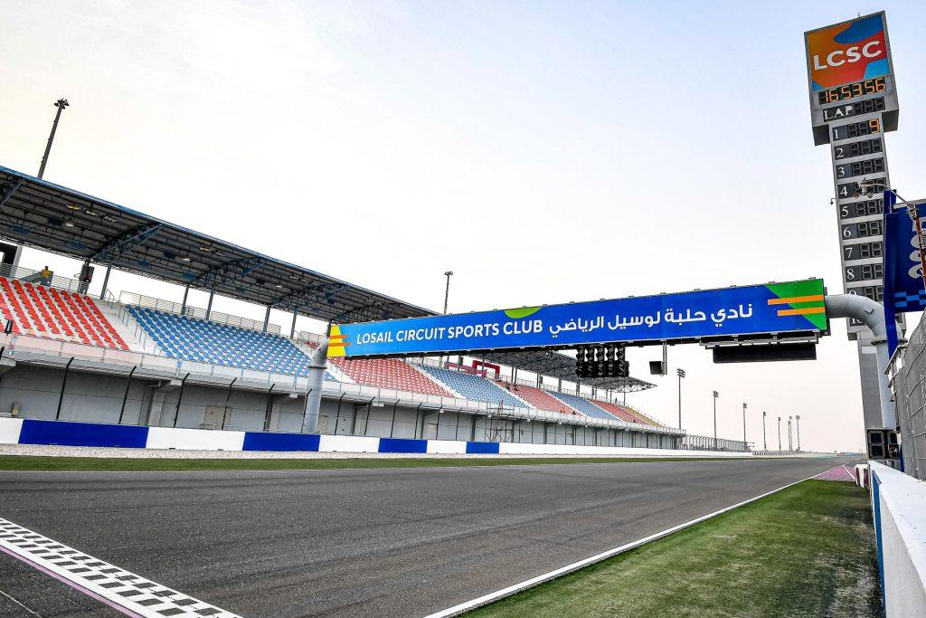 Partenza circuito Losail Qatar