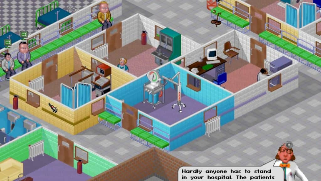 Theme Hospital Photo credit: web