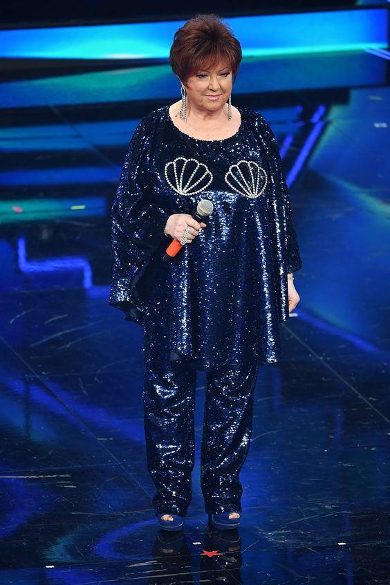 Orietta Berti a Sanremo'21 - Credits: Pinterest
