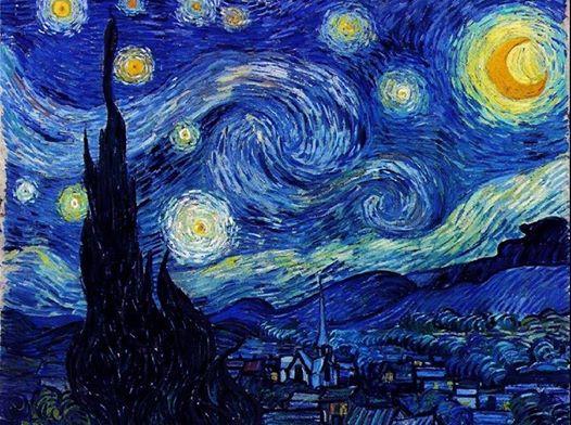 vincent van gogh la notte stellata- credits: sites.google.com