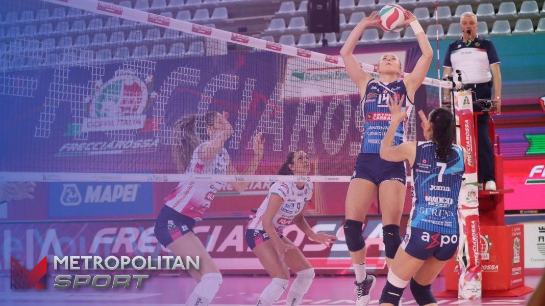 VOLLEY - Conegliano Novara finale