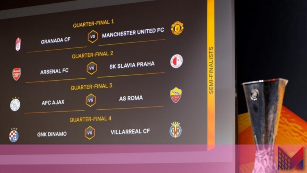 Europa League quarti di finale (Credit Foto - UEFA)