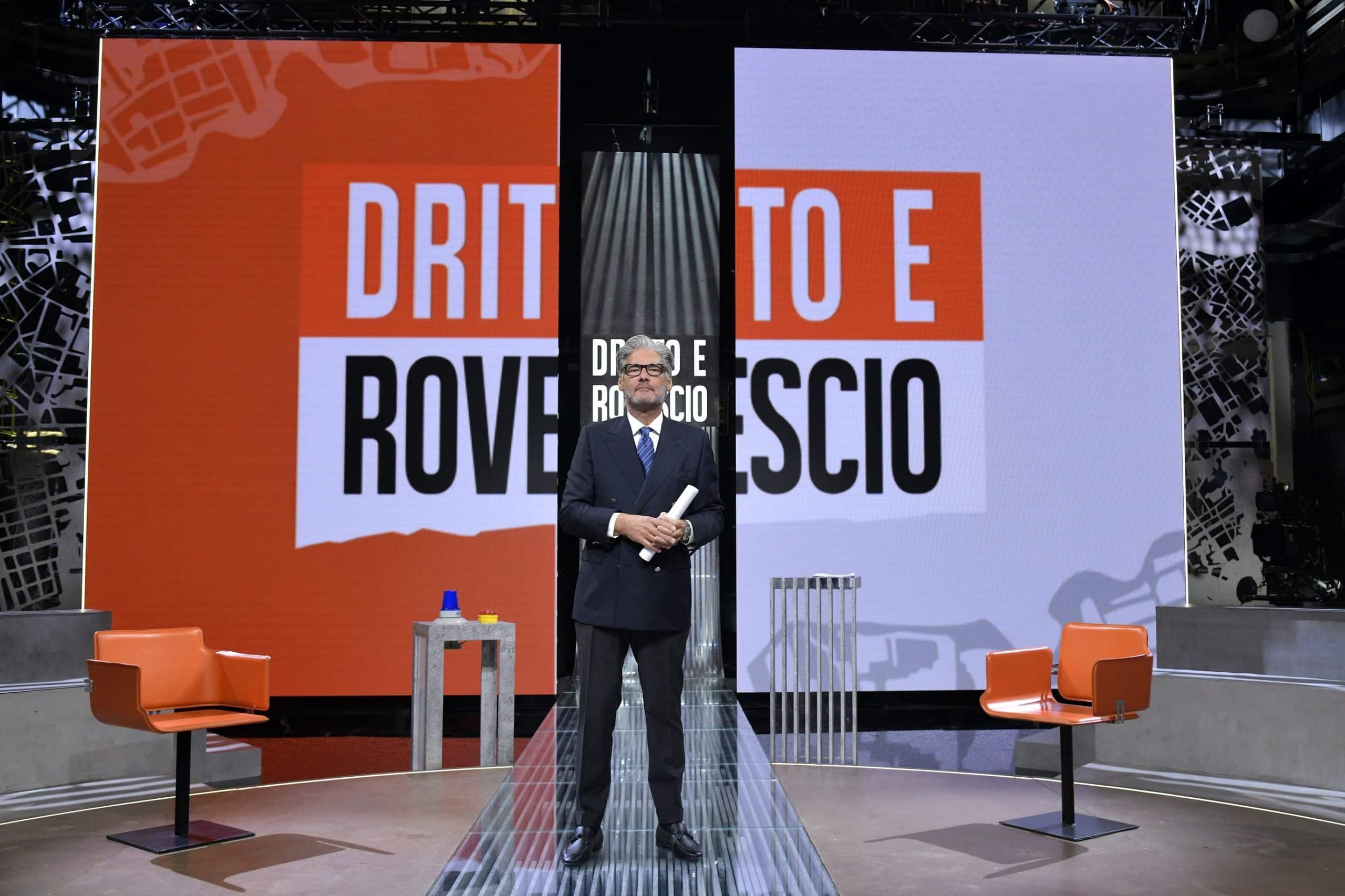 Dritto e Rovescio,Photo Credits: Mediaset