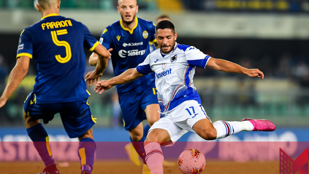 Sampdoria-Hellas Verona (Pagina Facebook Ufficiale UC Sampdoria)