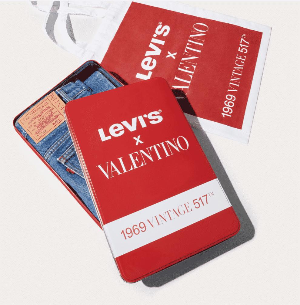 La nuova collezione di Levi's e Valentino