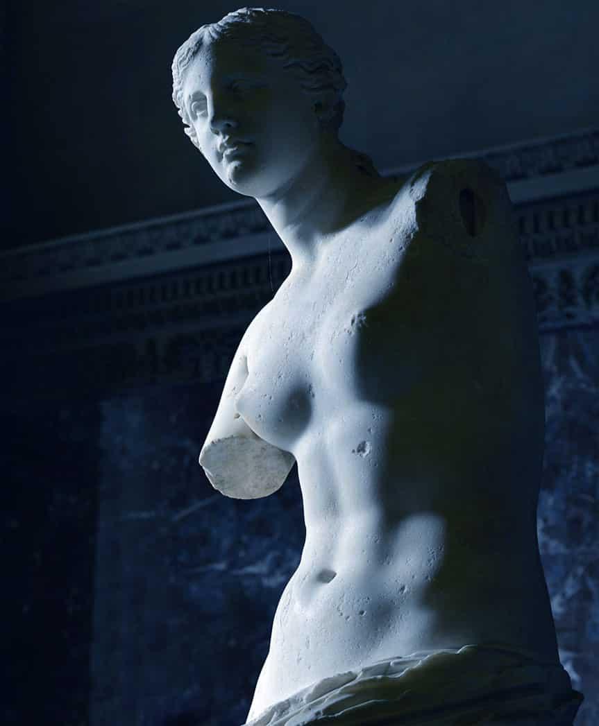 Venere di Milo, la scoperta della statua l'8 aprile 1820